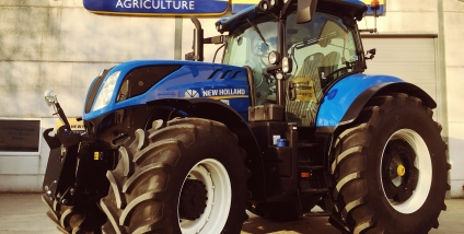Afgeleverd New Holland Agriculture