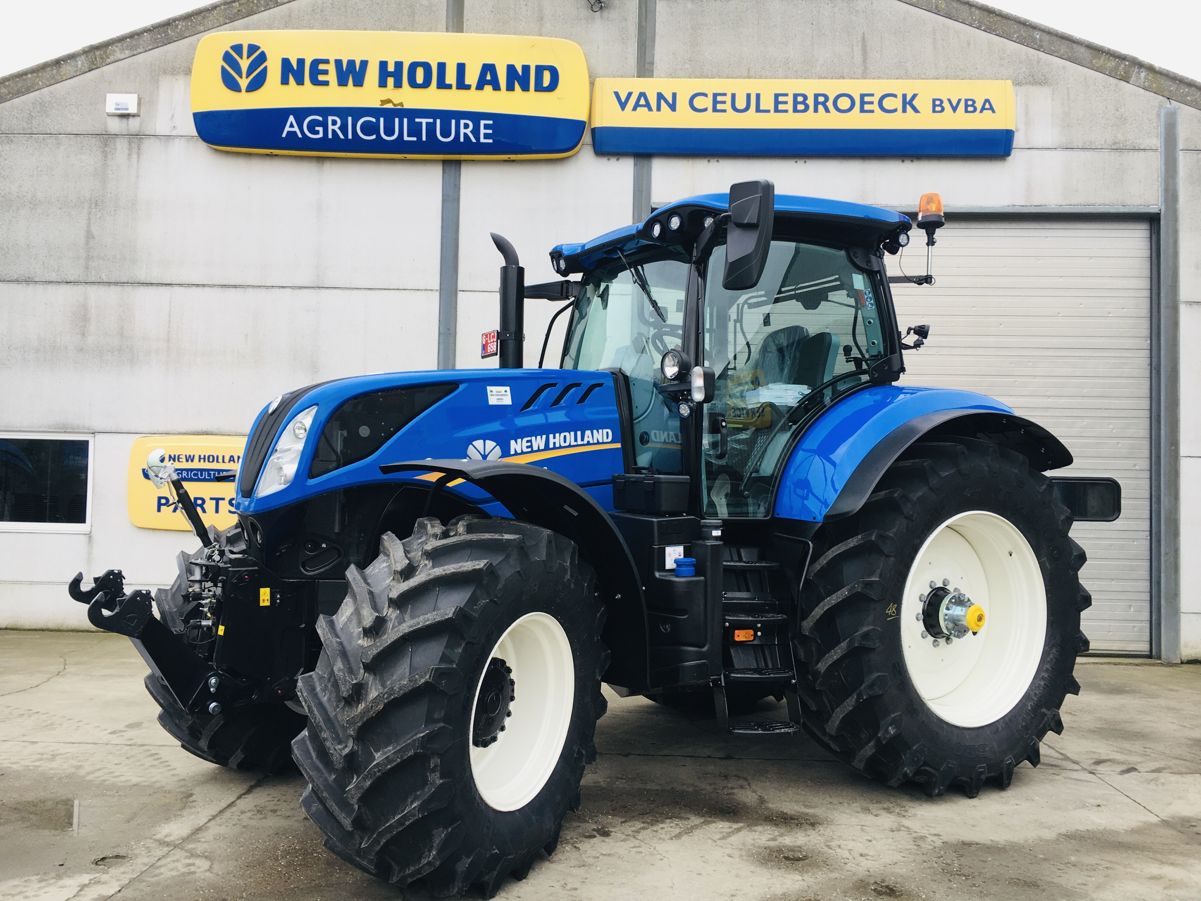New Holland T7.260 PC SWII Intellisteer afgeleverd !!