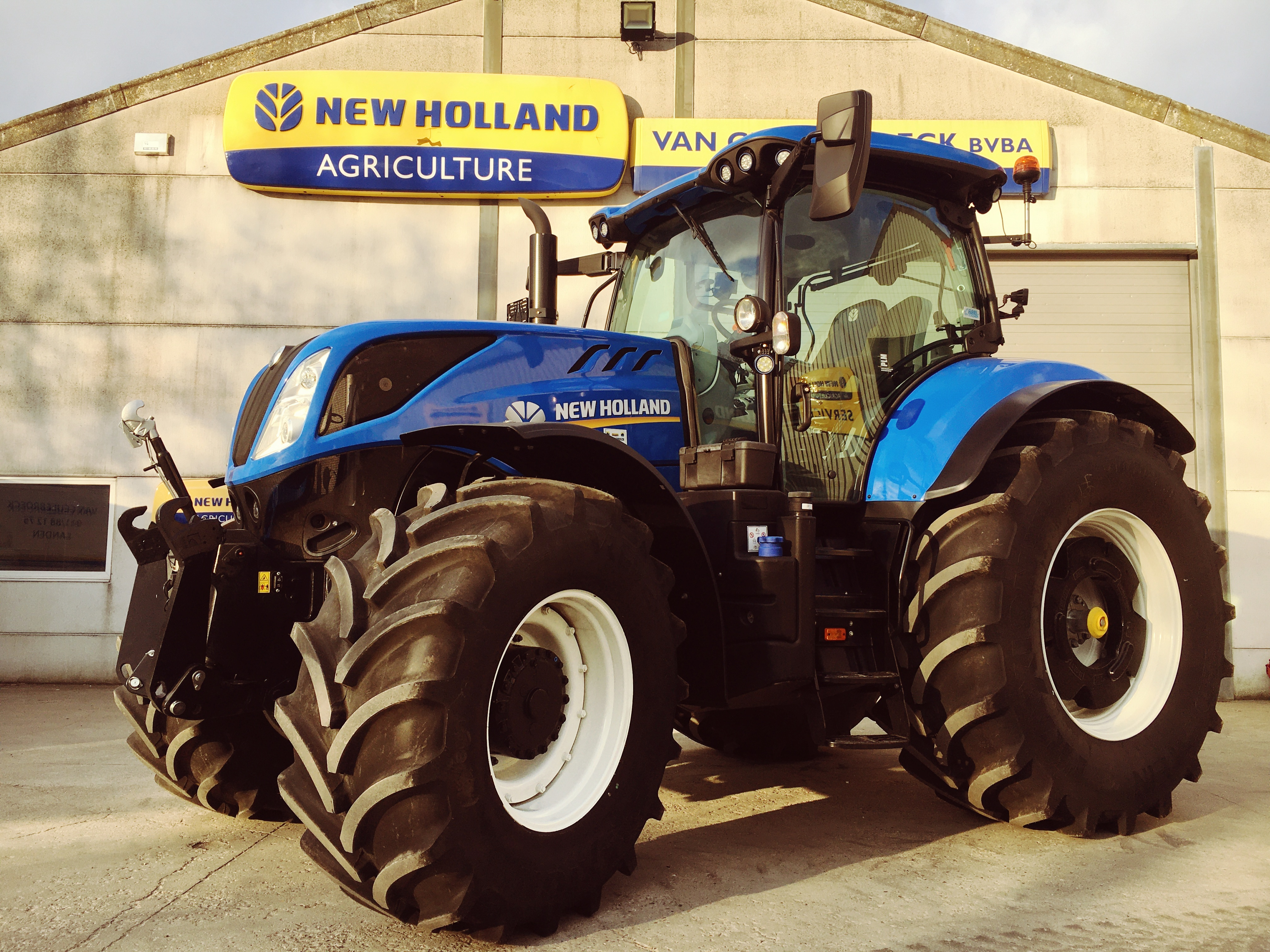 New Holland T7.260 Power Command Classic afgeleverd !!