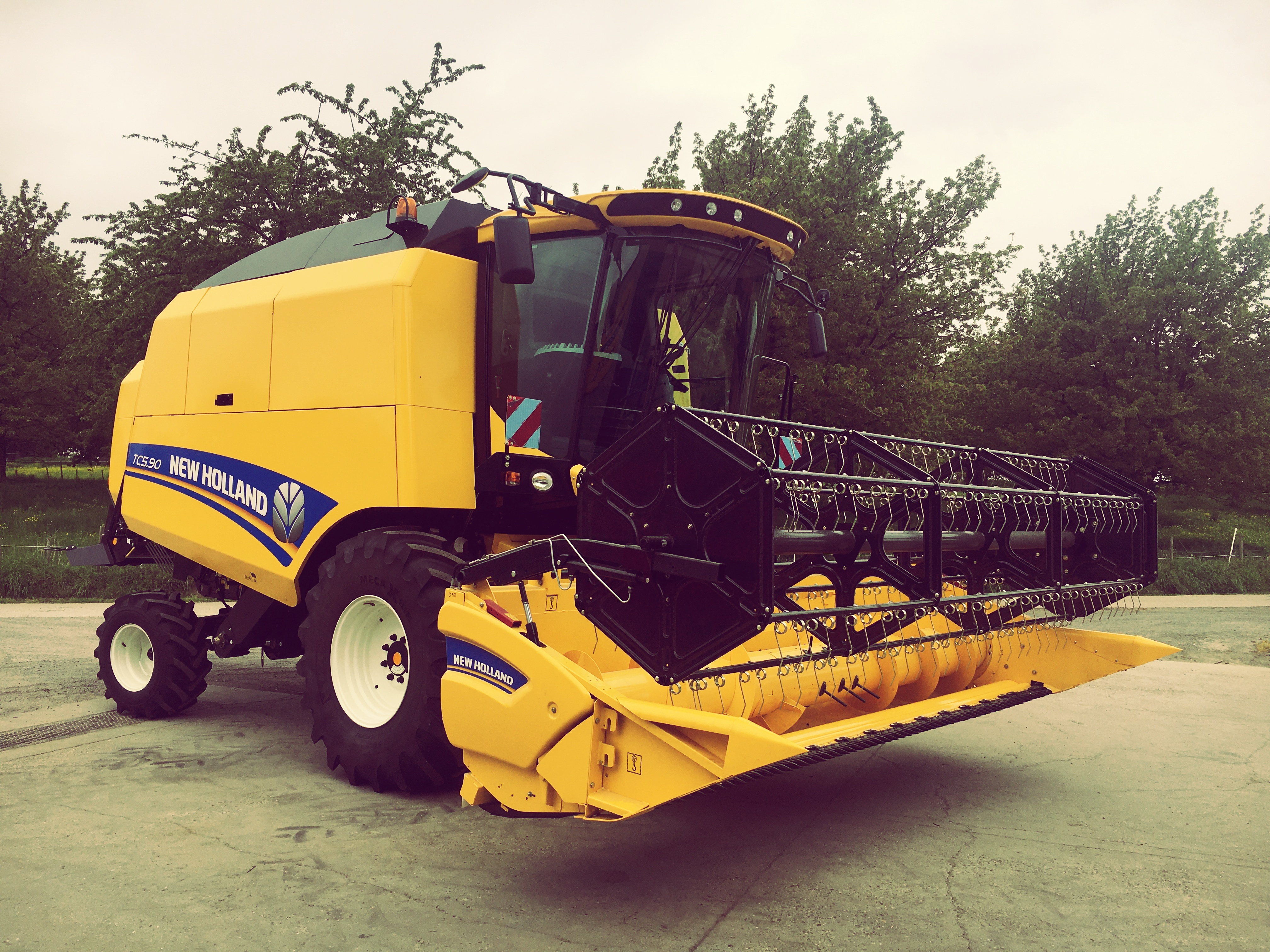 New Holland TC5.90 afgeleverd !!