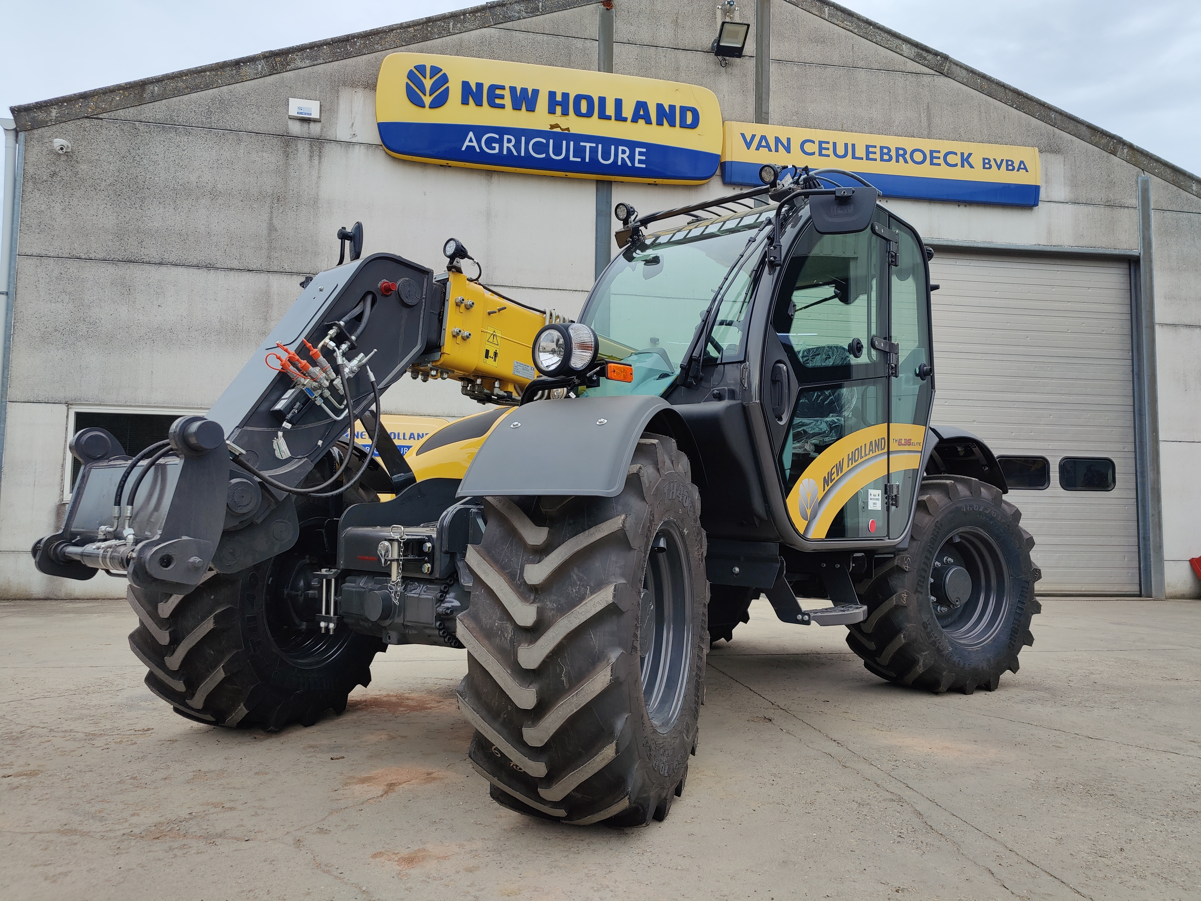 New Holland TH6.36 Elite afgeleverd !!