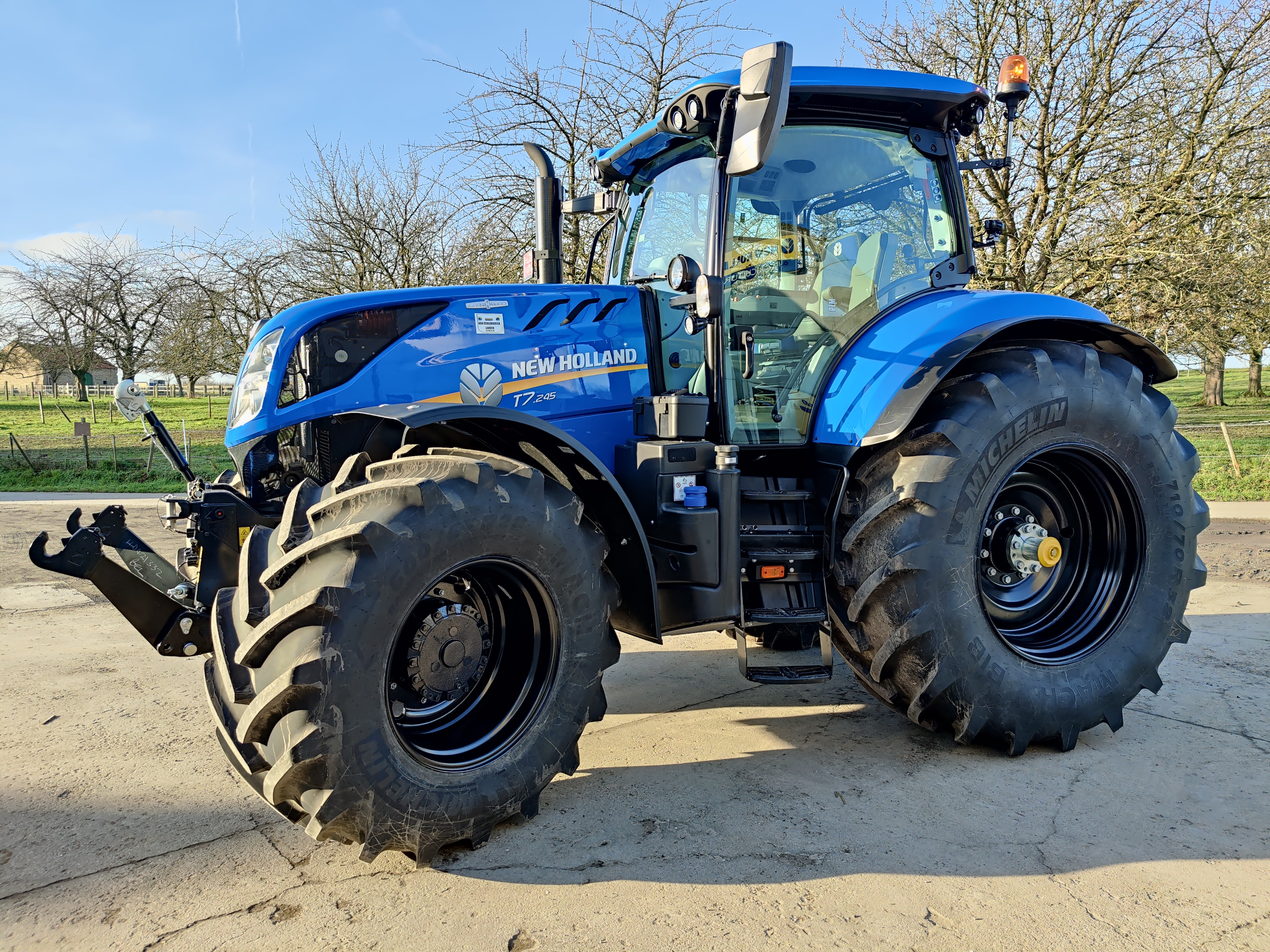 New Holland T7.245 Auto Command Intellisteer afgeleverd !!