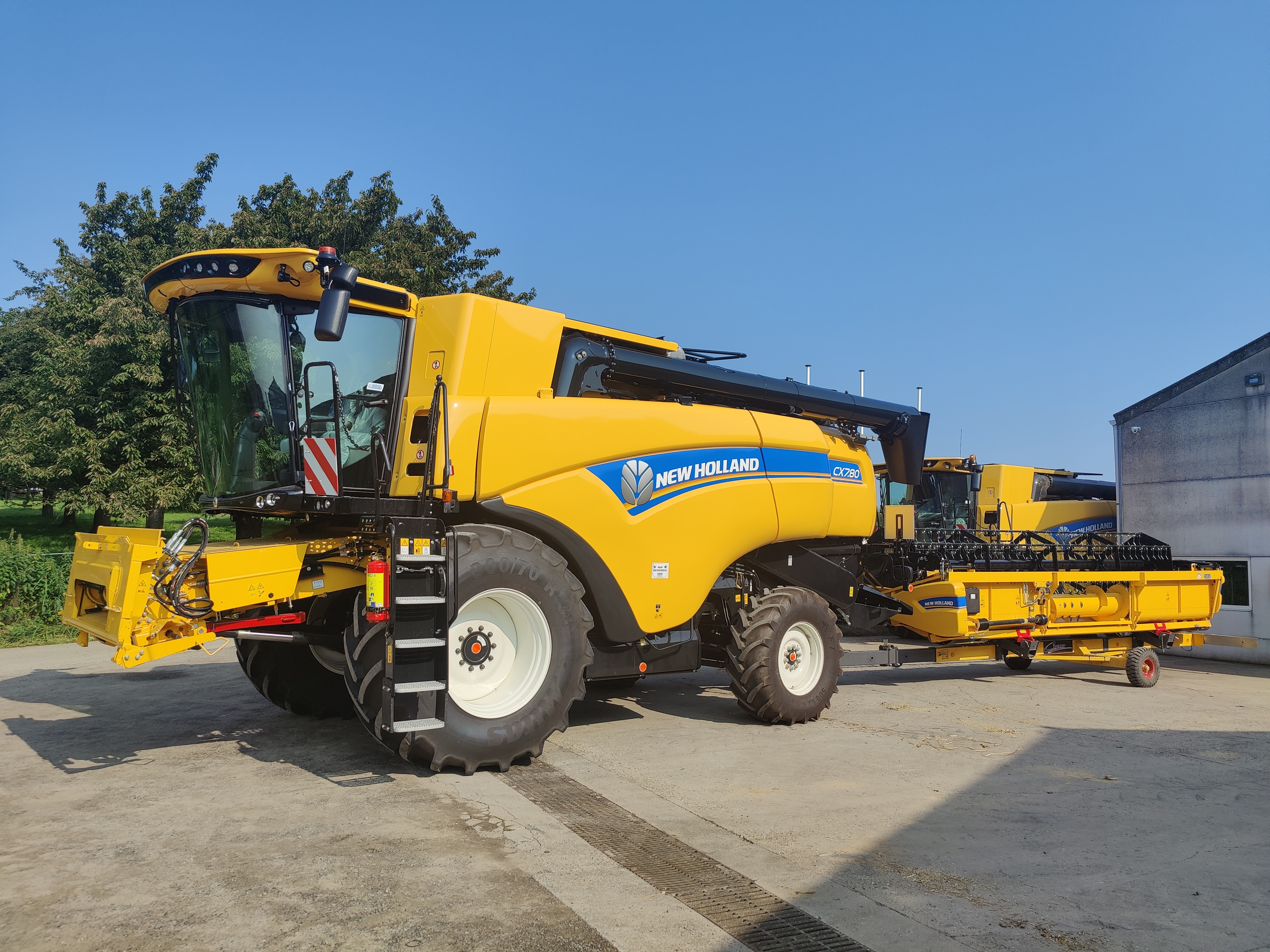New Holland CX7.80 afgeleverd !!