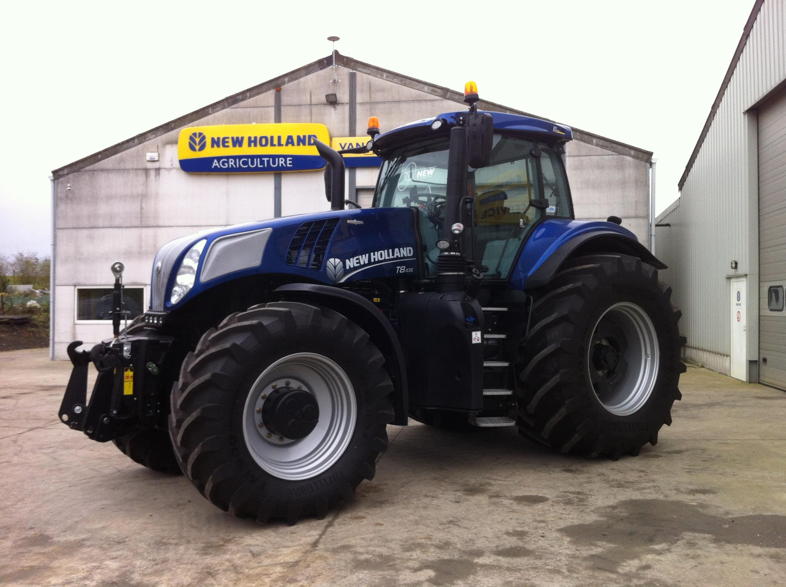 T8 Tier IV B Blue Power voorgesteld
