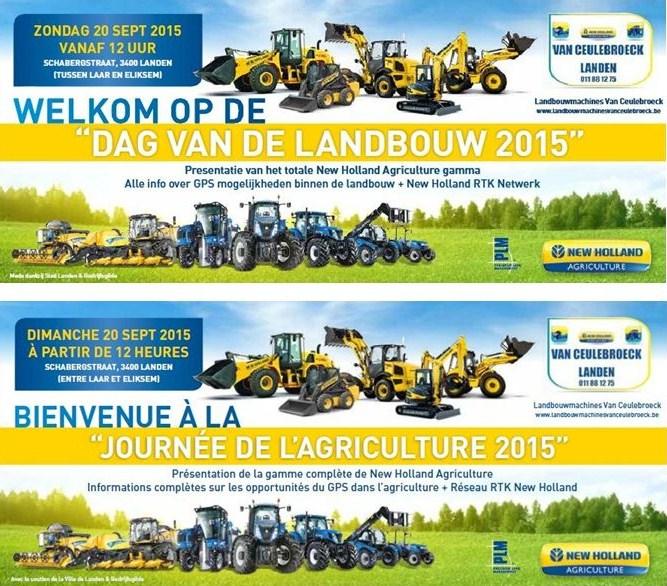 Dag van de landbouw 2015 / Journée de l'agriculture