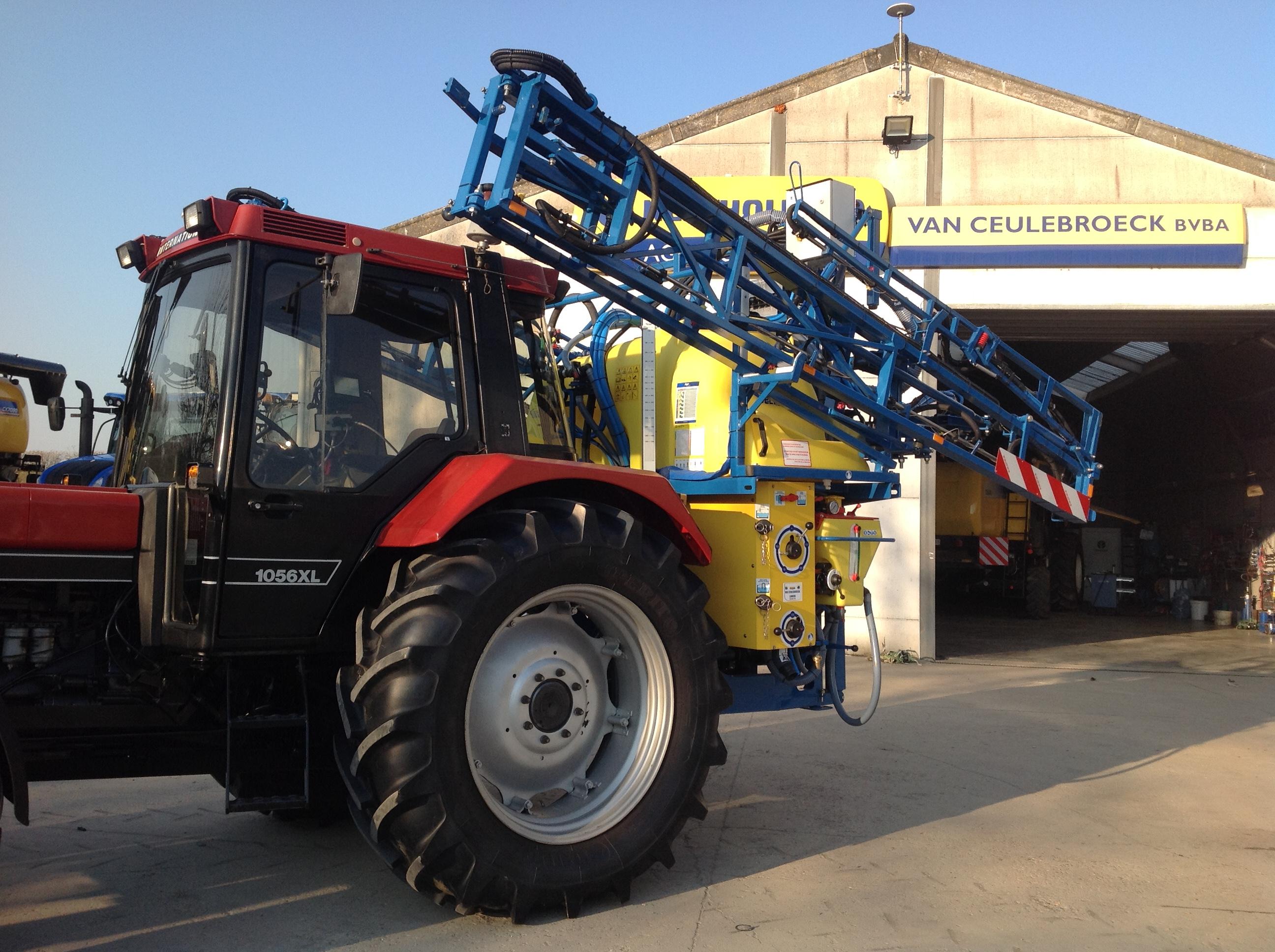 Delvano EAK 7 landbouwspuit afgeleverd