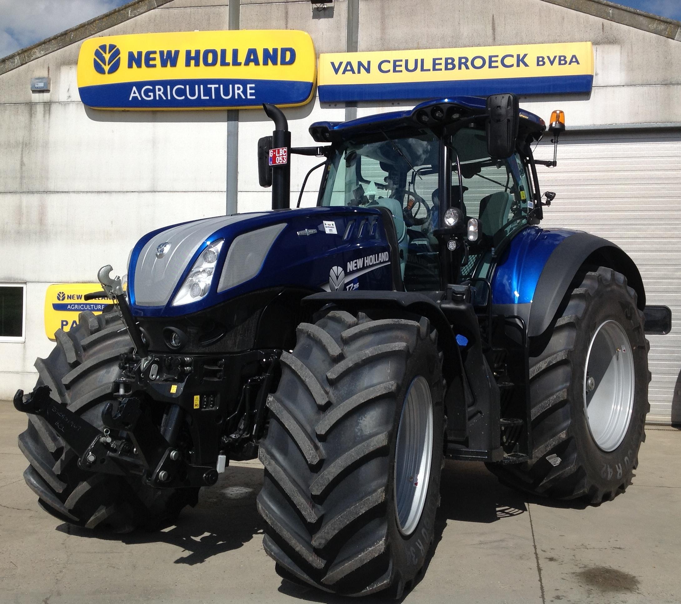 Eerste T7.315 AC HD Blue Power afgeleverd in België !!