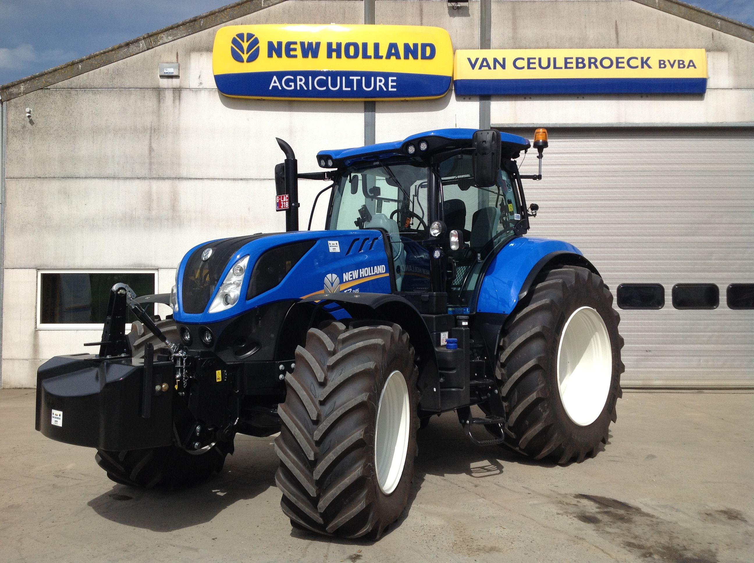 T7.245 Power Command Intellisteer afgeleverd !!