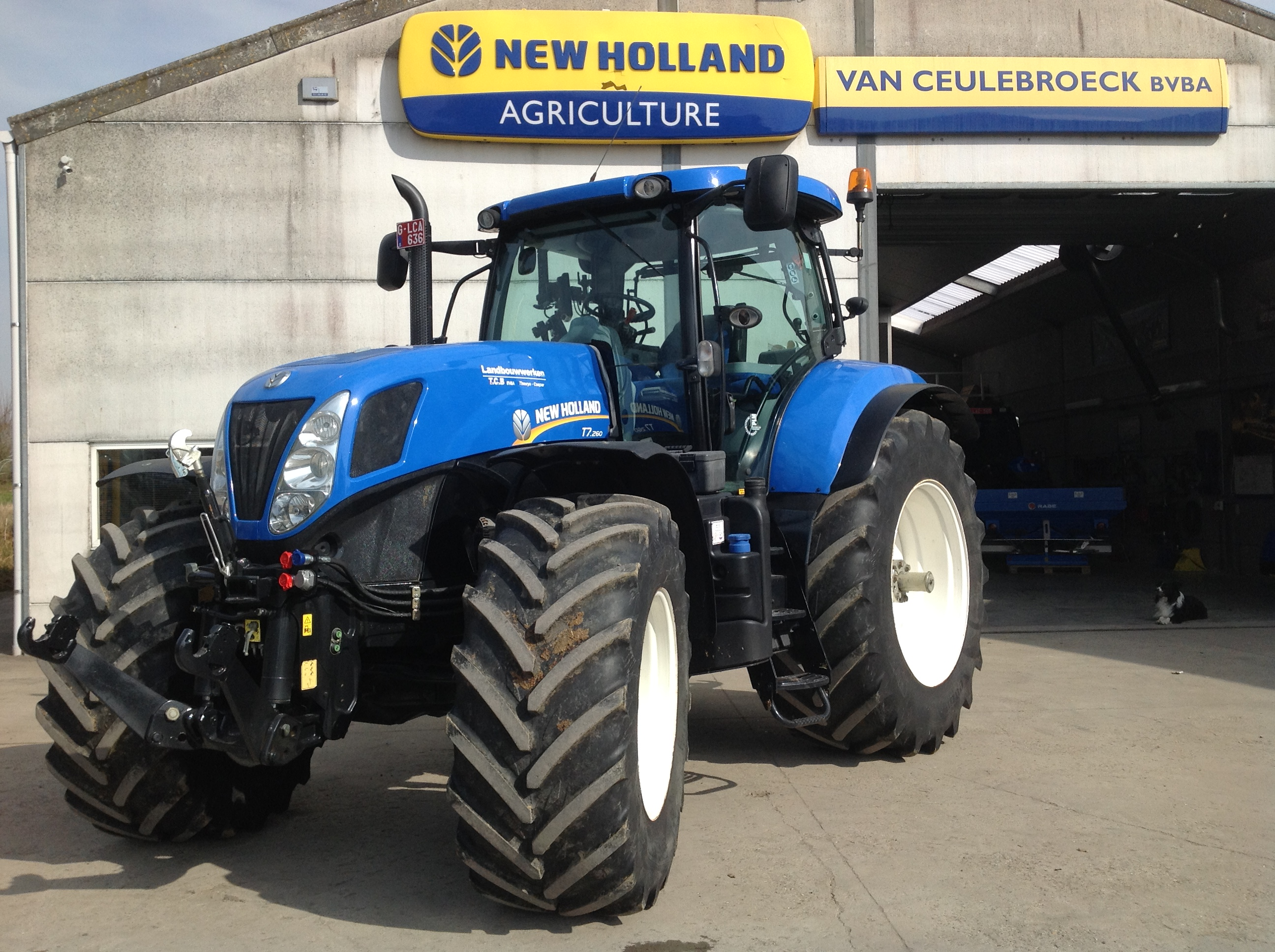New Holland T7.260 Power Command uitgerust met Trimble Full Autopilot !!