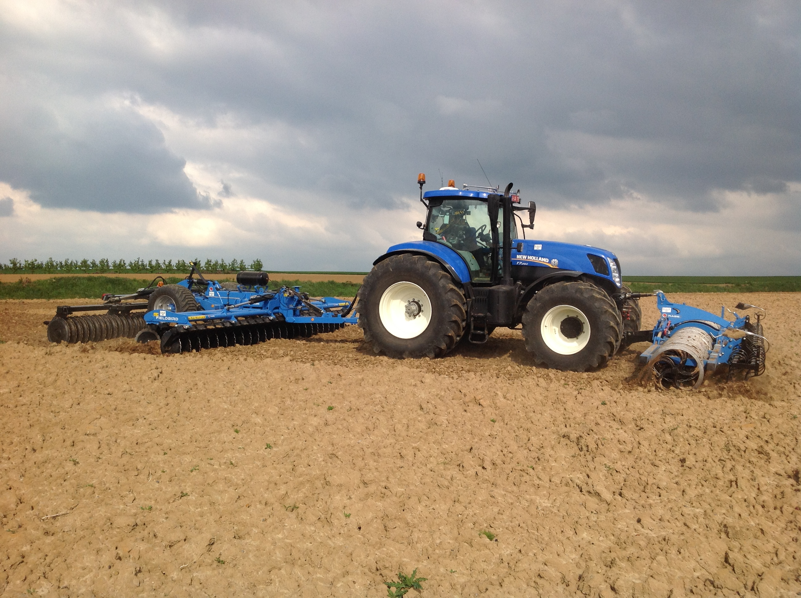 Rabe - Gb FUPA 6 meter + Fieldbird 6000 SP II in actie !!