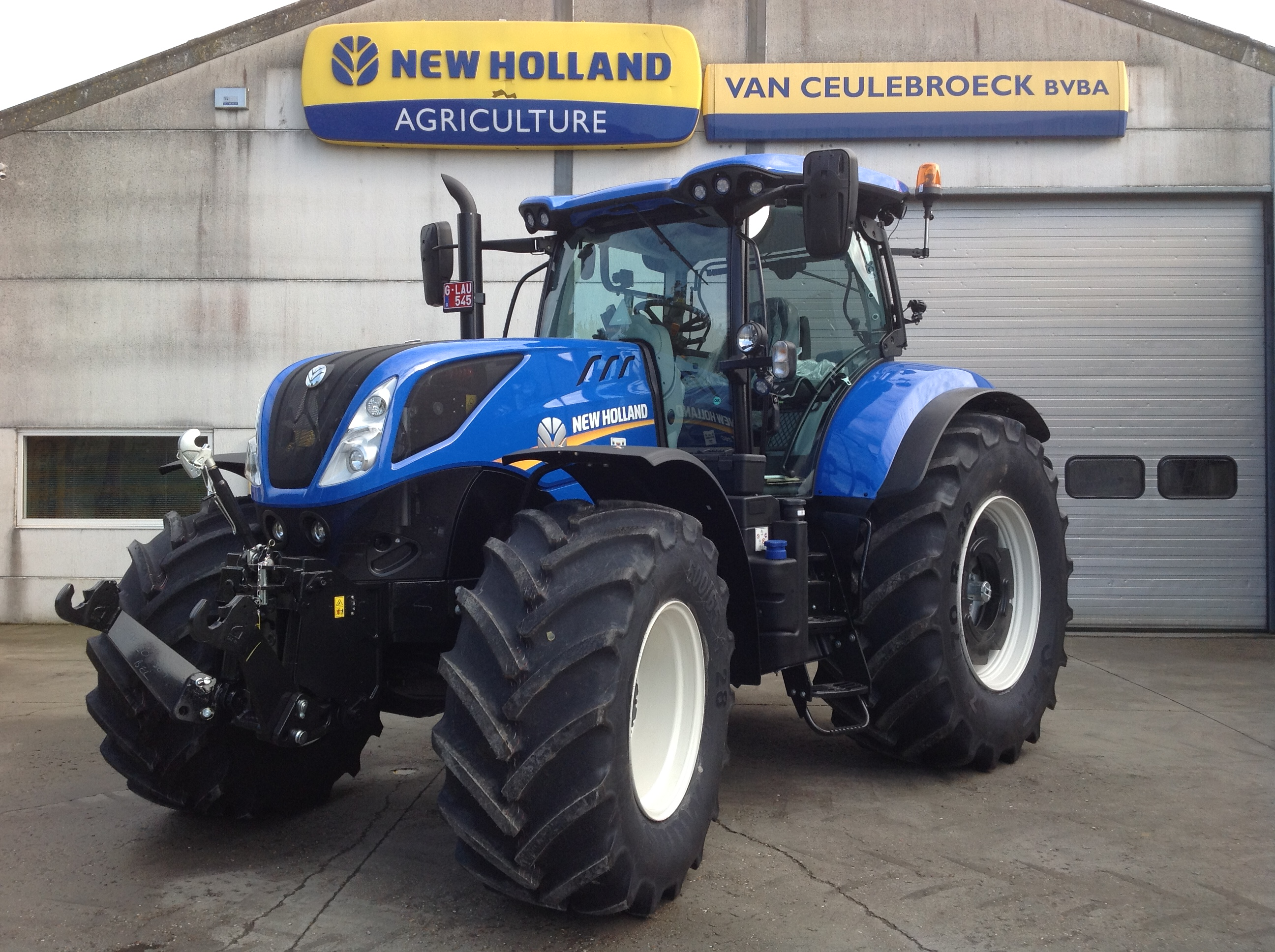 New Holland T7.260 PC SWII AGR afgeleverd !!