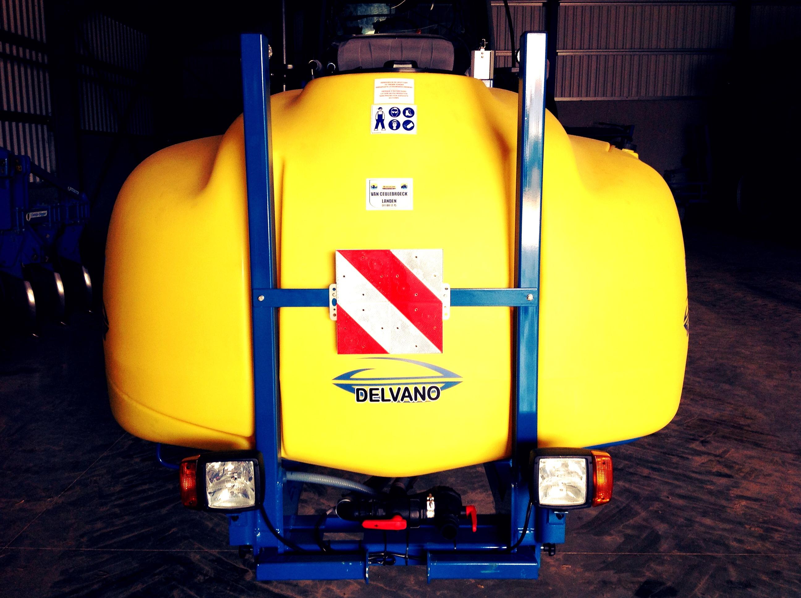 Delvano fronttank afgeleverd !!